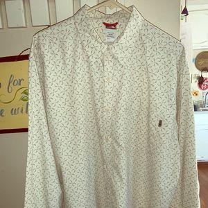The North Face men's long sleeve dress shirt
